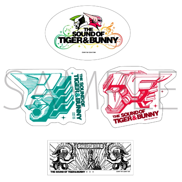 THE SOUND OF TIGER & BUNNY/ステッカー