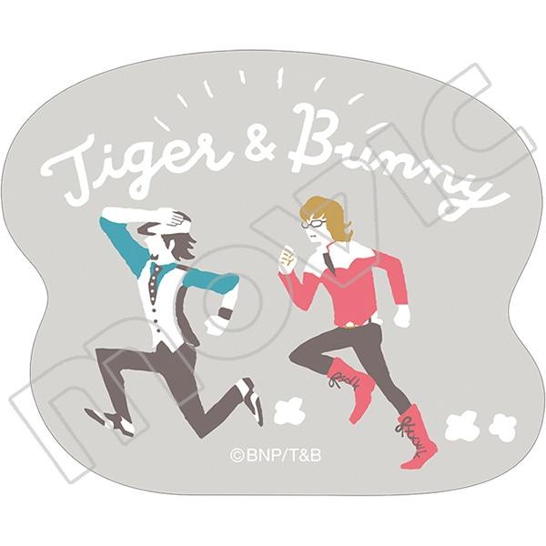 TIGER & BUNNY ステッカー ゆるパレット 虎徹&バーナビー