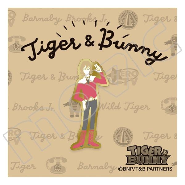 TIGER & BUNNY ピンズ ゆるパレット バーナビー・ブルックス Jr.