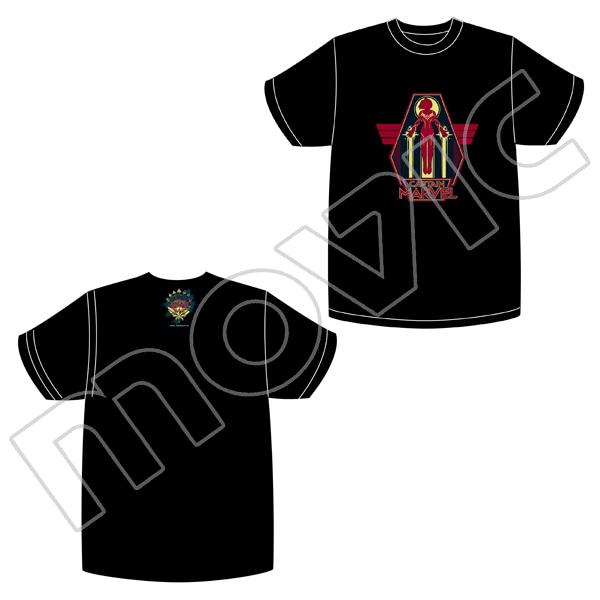 マーベル・コミック キャプテンマーベル Tシャツ B