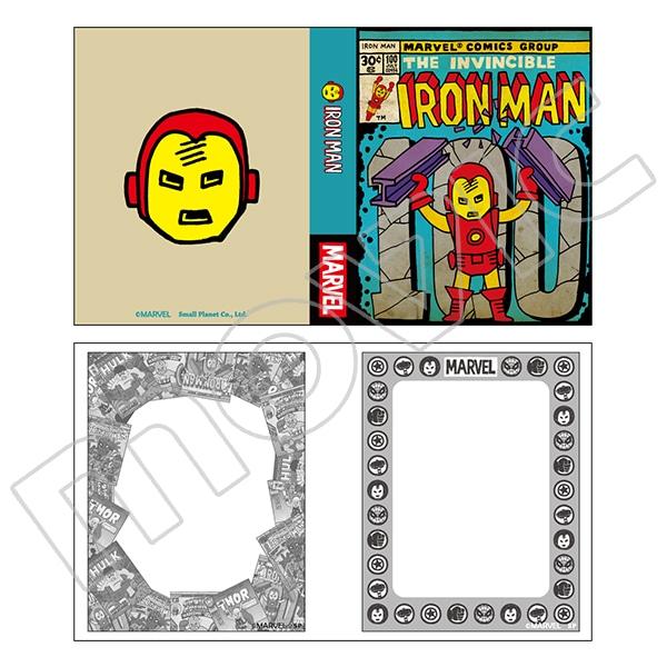 マーベル・コミック MARVEL COMIC STYLE MEMO BOOK アイアンマン