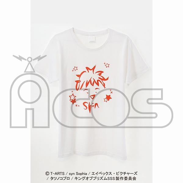 KING OF PRISM -Shiny Seven Stars- クレヨン風アートTシャツ 一条シン