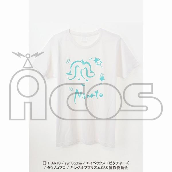 KING OF PRISM -Shiny Seven Stars- クレヨン風アートTシャツ 鷹梁ミナト