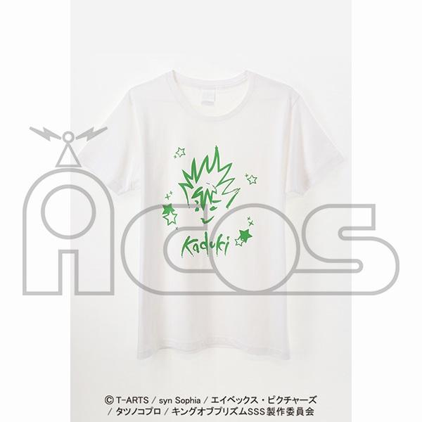 KING OF PRISM -Shiny Seven Stars- クレヨン風アートTシャツ 仁科カヅキ