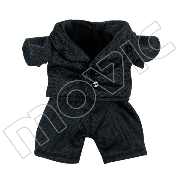くまめいと ジャケット&パンツ 黒