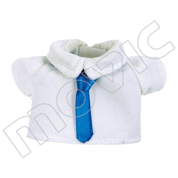 くまめいと 白シャツ&青ネクタイ