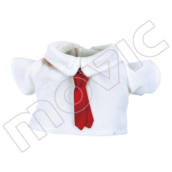 くまめいと 白シャツ&赤ネクタイ