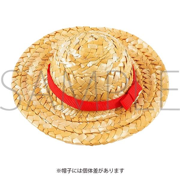 くまめいと 麦わら帽子 レッド