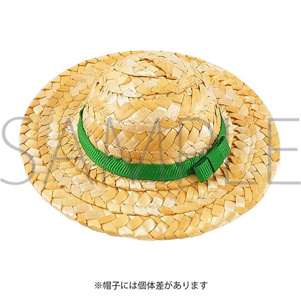 くまめいと 麦わら帽子 グリーン
