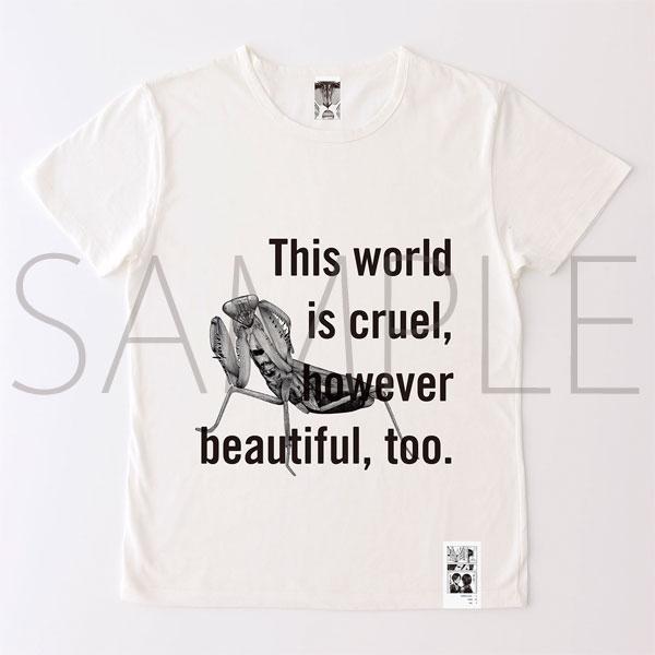 進撃の巨人展 進撃の巨人メッセージTシャツ No.4 世界(L)