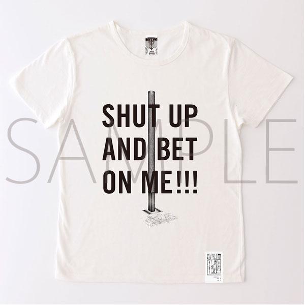 進撃の巨人展 進撃の巨人メッセージTシャツ No.5 投資(L)
