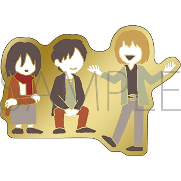 進撃の巨人 ピンズ エレン&ミカサ&アルミン(ゆるパレット)