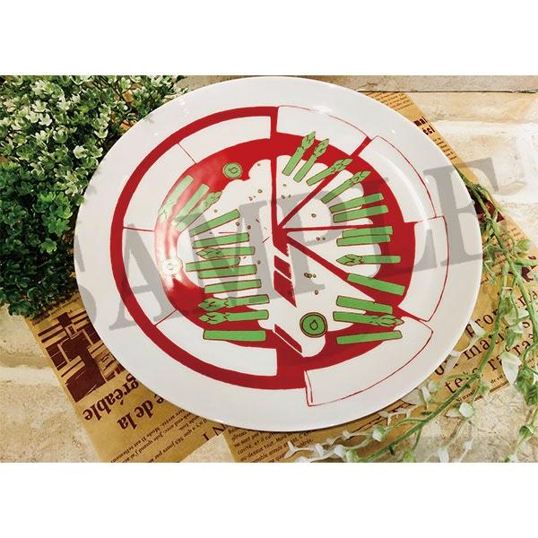 ガールズ&パンツァー最終章 アンツィオ高校のピザプレート