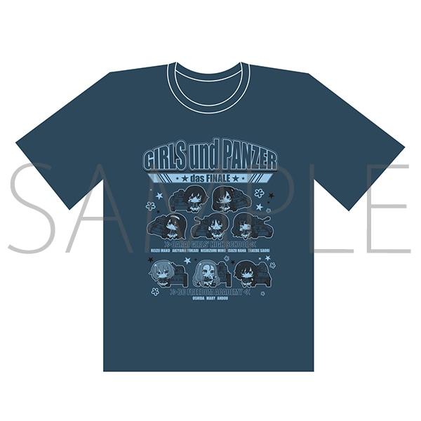 ガールズ&パンツァー最終章 Tシャツ XL (大洗女子学園&BC自由学園)