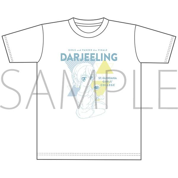 ガールズ&パンツァー最終章 オーバーサイズTシャツ ダージリン