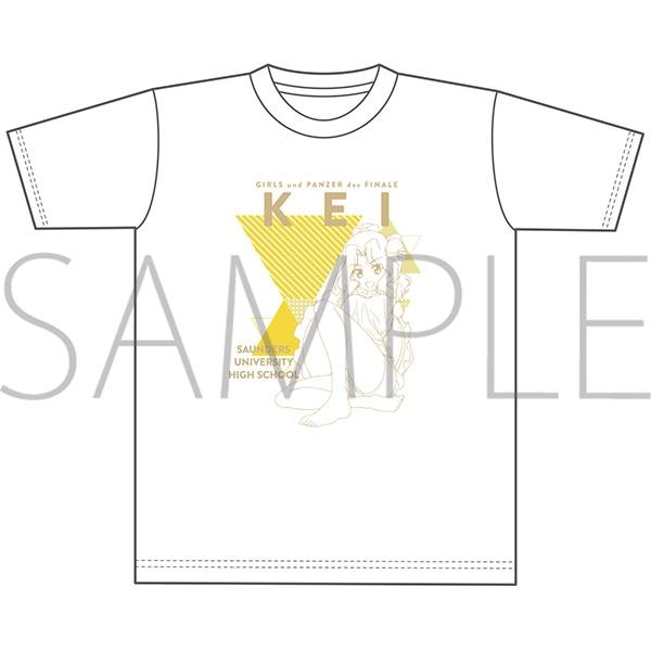 ガールズ&パンツァー最終章 オーバーサイズTシャツ ケイ