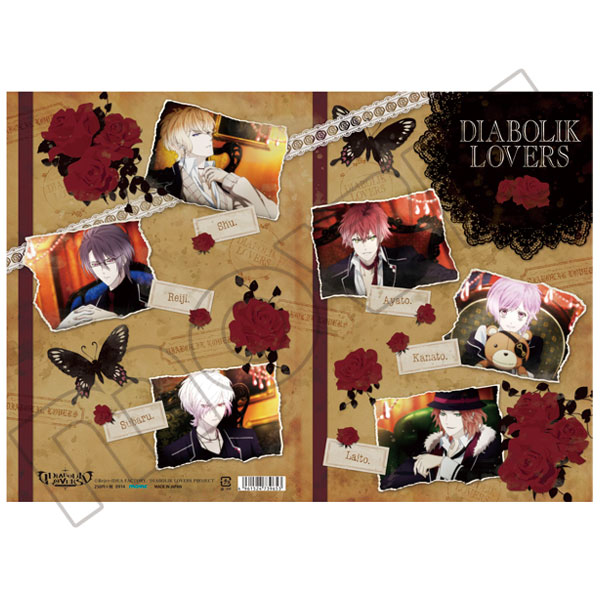 DIABOLIK LOVERS B5ノート/OP場面写