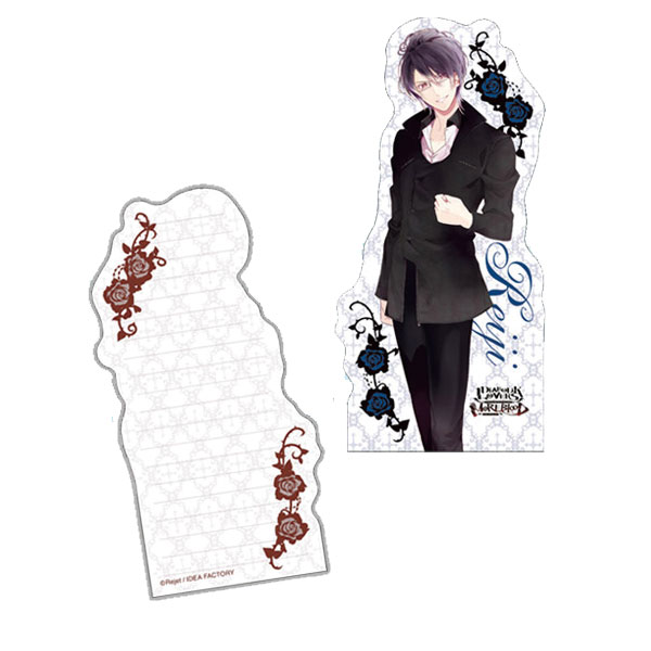 DIABOLIK LOVERS MORE,BLOOD ダイカットメモ帳 逆巻レイジ