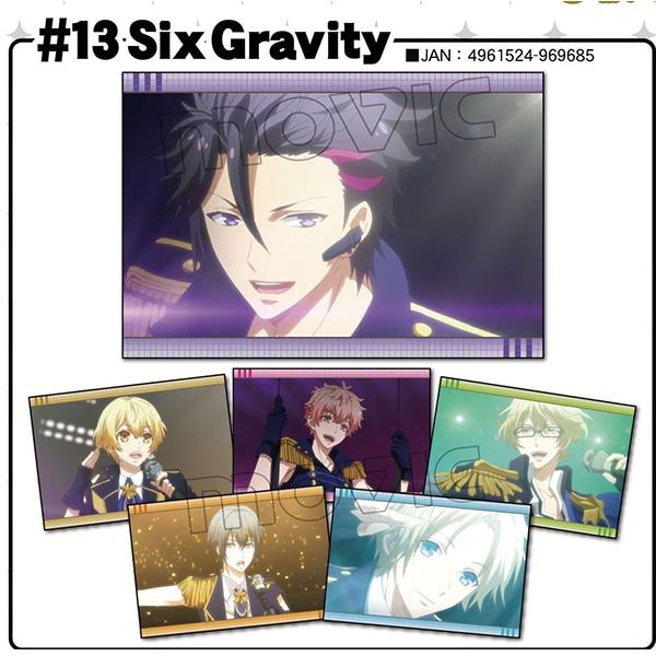 ツキウタ。 THE ANIMATION ポストカードセット #13 Six Gravity
