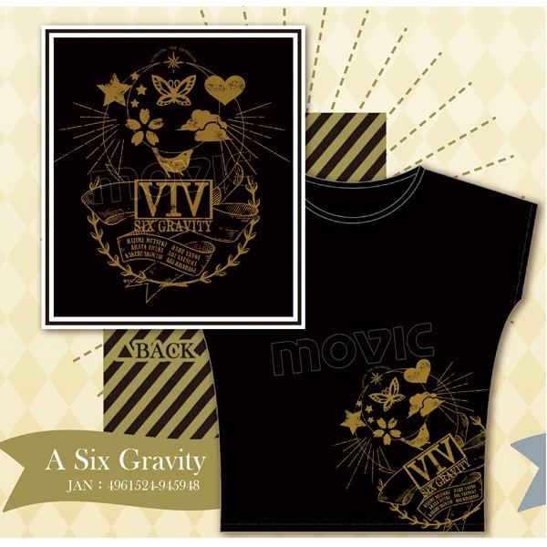 ツキウタ。 THE ANIMATION Tシャツ A:Six Gravity