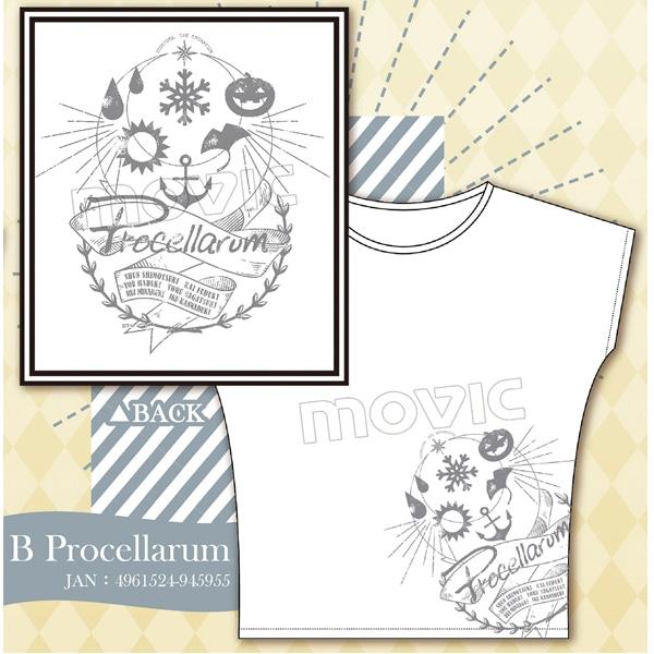 ツキウタ。 THE ANIMATION Tシャツ B:Procellarum