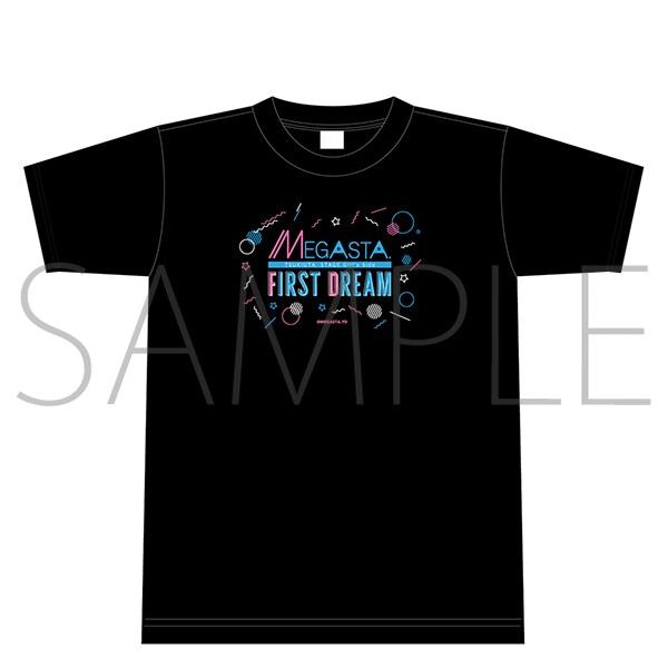 2.5次元ダンスライブ「ツキウタ。」ステージ Girl's Side MEGASTA. 『FIRST DREAM -あなたとみるはじめてのゆめ-』 Tシャツ