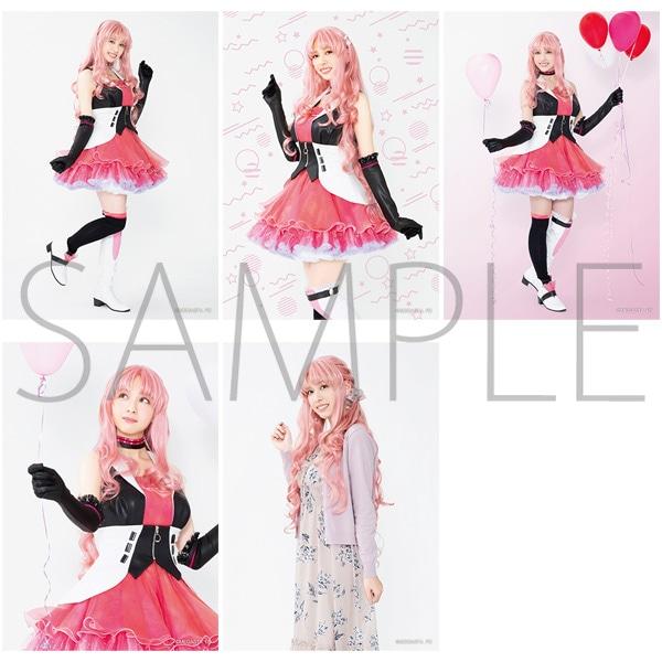 2.5次元ダンスライブ「ツキウタ。」ステージ Girl's Side MEGASTA. 『FIRST DREAM -あなたとみるはじめてのゆめ-』 【C】ブロマイドセット(5枚セット) 如月 愛