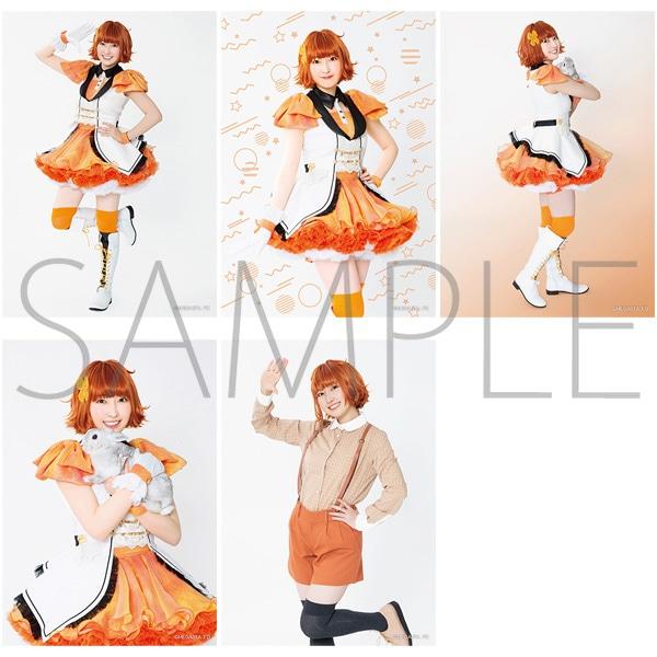 2.5次元ダンスライブ「ツキウタ。」ステージ Girl's Side MEGASTA. 『FIRST DREAM -あなたとみるはじめてのゆめ-』 【E】ブロマイドセット(5枚セット) 兎川千桜