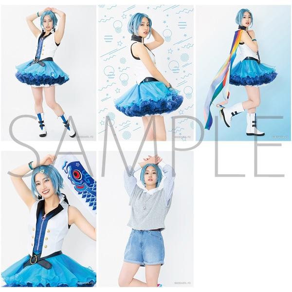 2.5次元ダンスライブ「ツキウタ。」ステージ Girl's Side MEGASTA. 『FIRST DREAM -あなたとみるはじめてのゆめ-』 【F】ブロマイドセット(5枚セット) 結城若葉