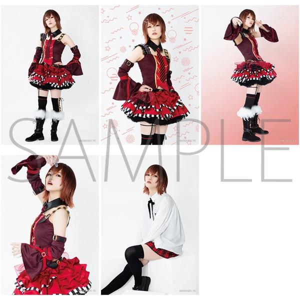 2.5次元ダンスライブ「ツキウタ。」ステージ Girl's Side MEGASTA. 『FIRST DREAM -あなたとみるはじめてのゆめ-』 【I】ブロマイドセット(5枚セット) 元宮祭莉