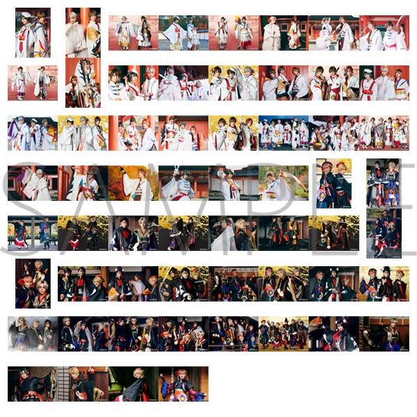2.5次元ダンスライブ「ツキウタ。」ステージ トレーディングブロマイド(ランダム6枚セット) 花人之宴Ver.全60種