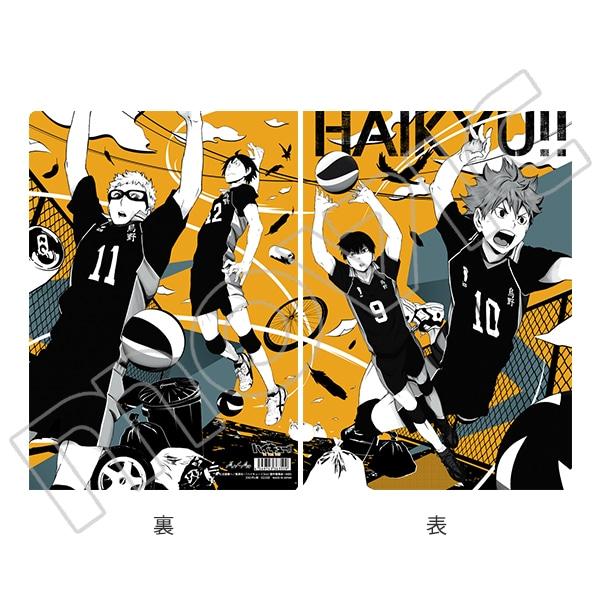 ハイキュー!! TO THE TOP クリアファイル Art-Pic 烏野高校