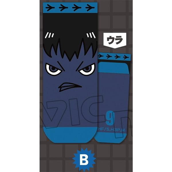 ハイキュー!!烏野高校 VS 白鳥沢学園高校 靴下 カゲガラス