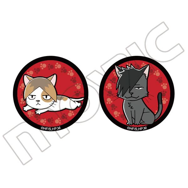 ハイキュー!! 缶バッジセット/孤爪ネコ&黒尾ネコ