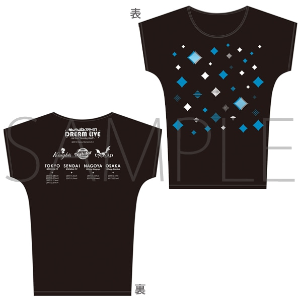 """あんさんぶるスターズ!DREAM LIVE -1st Tour """"Morning Star!""""- 事後通販 Tシャツ"""