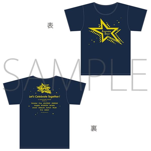 あんさんぶるスターズ! 〜3rd Anniversary ファン感謝祭〜 Tシャツ