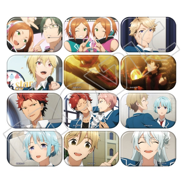 TVアニメ『あんさんぶるスターズ!』  キャラバッジコレクション stories ver.B