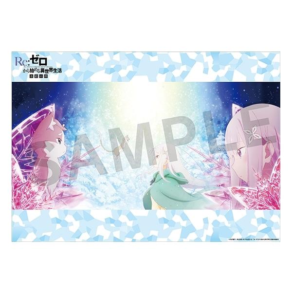 Re:ゼロから始める異世界生活 氷結の絆 限定A3クリアポスター付前売券(ムビチケカード)