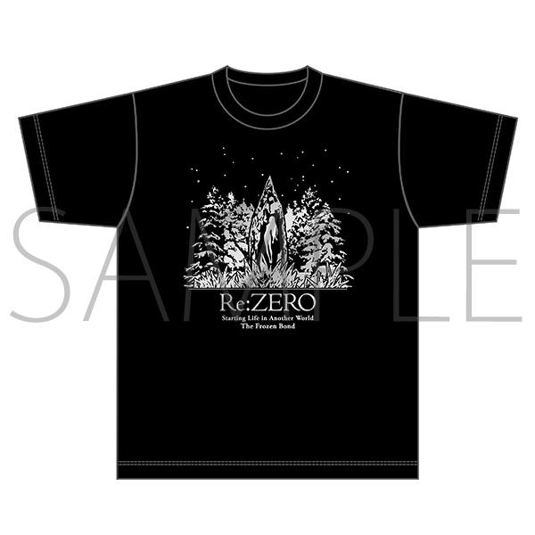 Re:ゼロから始める異世界生活 氷結の絆 ※劇場先行販売※箔Tシャツ(フリーサイズ)