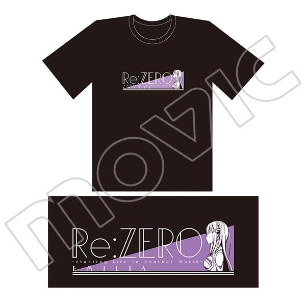 Re:ゼロから始める異世界生活 Tシャツ エミリア