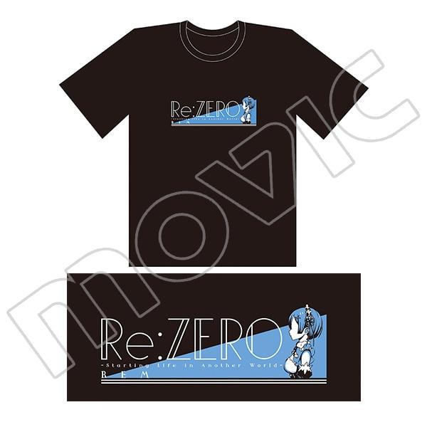 Re:ゼロから始める異世界生活 Tシャツ レム