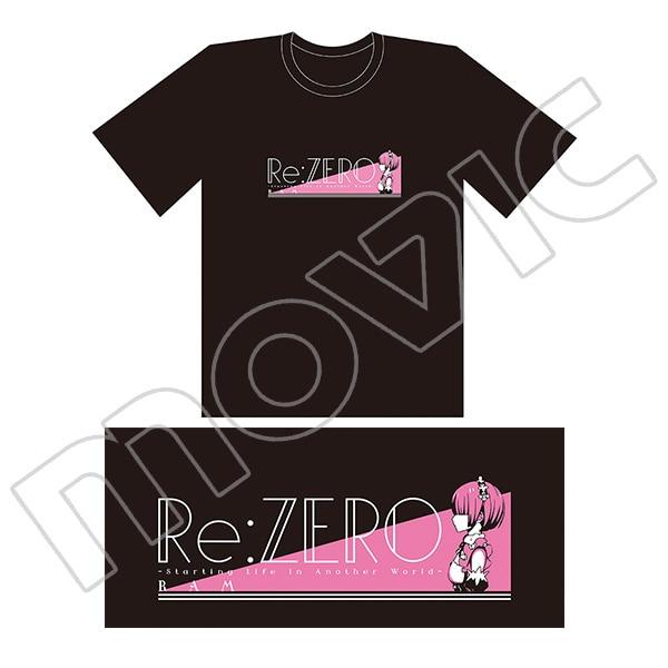 Re:ゼロから始める異世界生活 Tシャツ ラム
