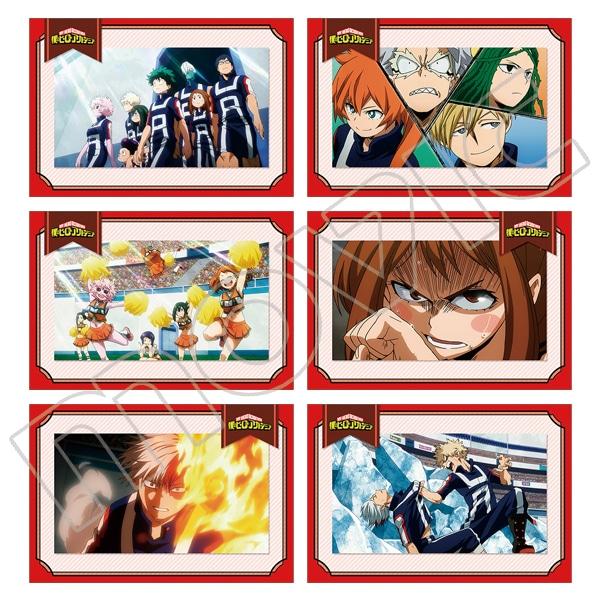 僕のヒーローアカデミア メモリアルポストカードセット 2期