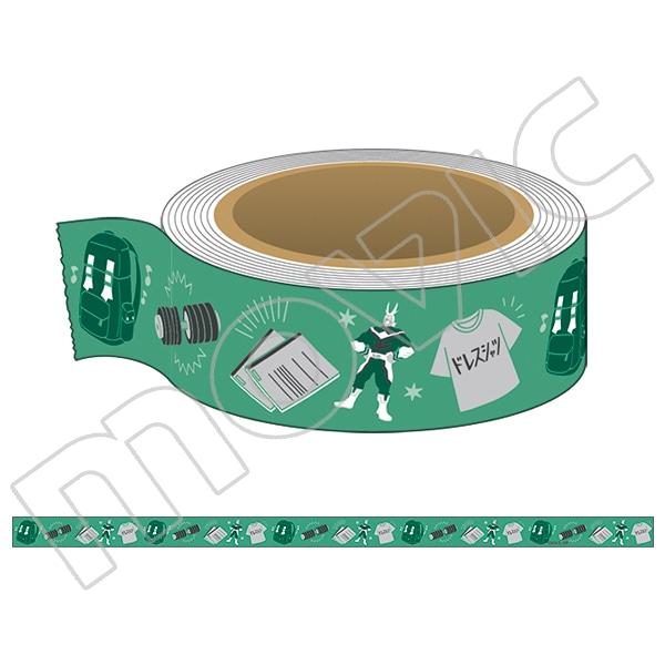 僕のヒーローアカデミア マスキングテープ 緑谷