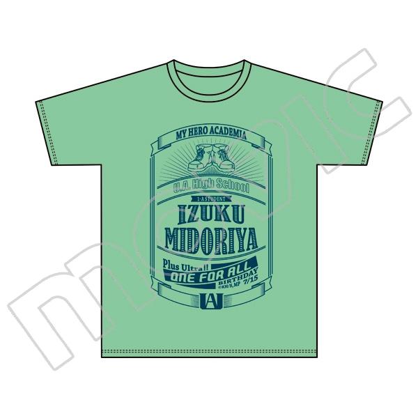僕のヒーローアカデミア  ヒーローTシャツ 緑谷