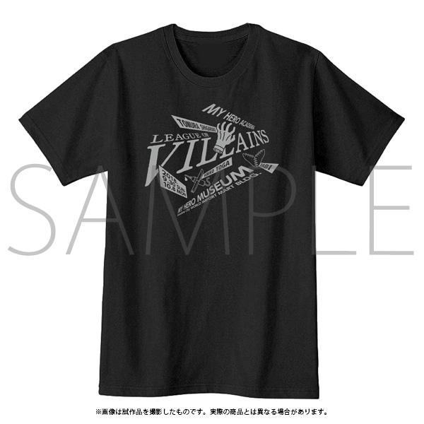 「僕のヒーローアカデミア」 イベントTシャツ B 敵<ヴィラン>