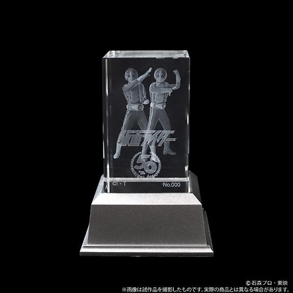 仮面ライダー クリスタルアート 仮面ライダー1号&2号【受注生産商品】