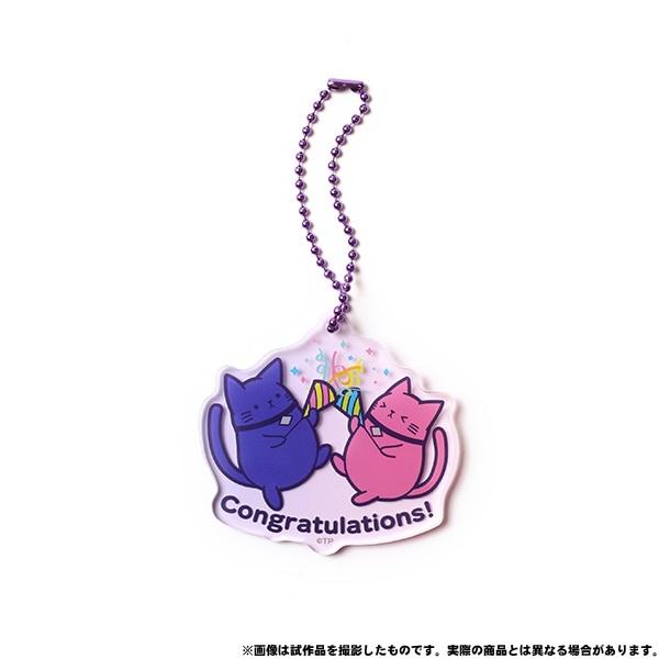 VAZZROCK アクリルキーホルダー VAZZCAT Congratulations