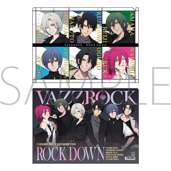 VAZZROCK クリアファイル ROCK DOWN IZA!