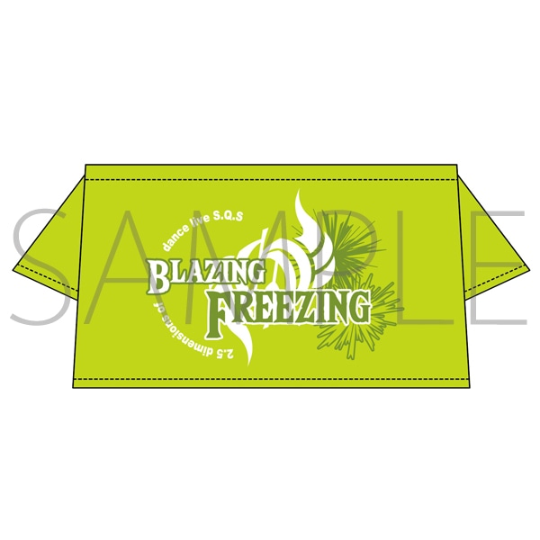 BLAZING & FREEZING Lizz用Tシャツ:英知